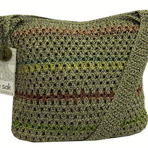 The Sak Amberly Crochet Hobo Shoulder Bag$79.00